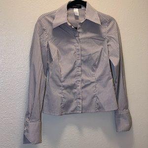 Jones New York-Striped Shirt